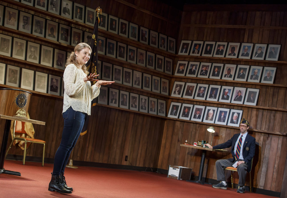 Heidi Schreck and Mike Iveson in WHAT THE CONSTITUTION MEANS TO ME at New York Theatre Workshop, Photo by Joan Marcus.jpg