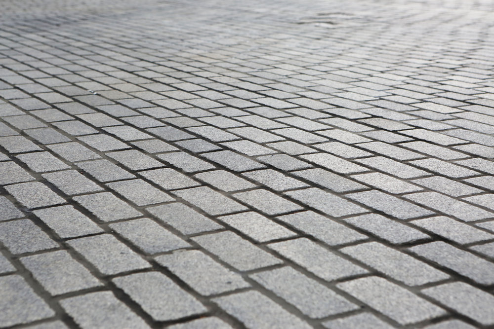 Brick and stone pavers