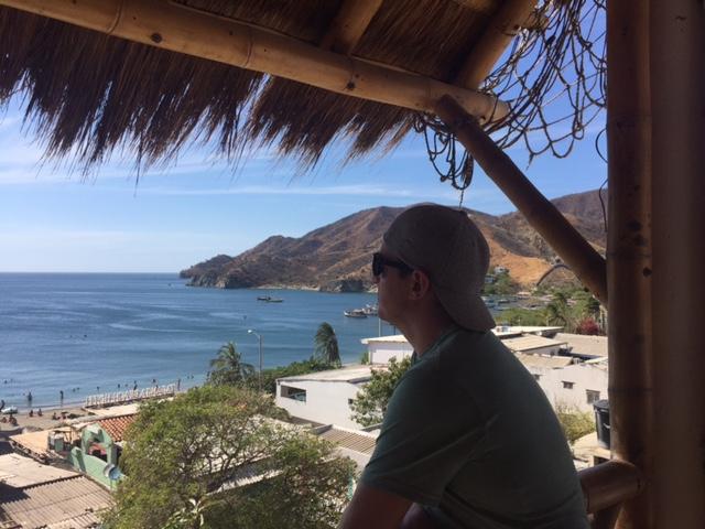 View from Babaganoush Restaurant