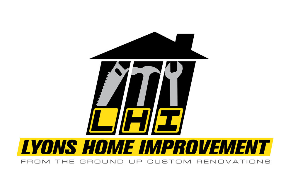 LYONS HOME IMPROVEMENT LOGO DESIGN