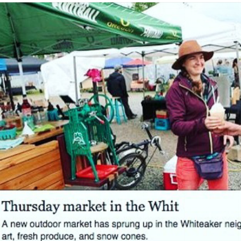 Register Guard, May 2016: Thursday Market in the Whit