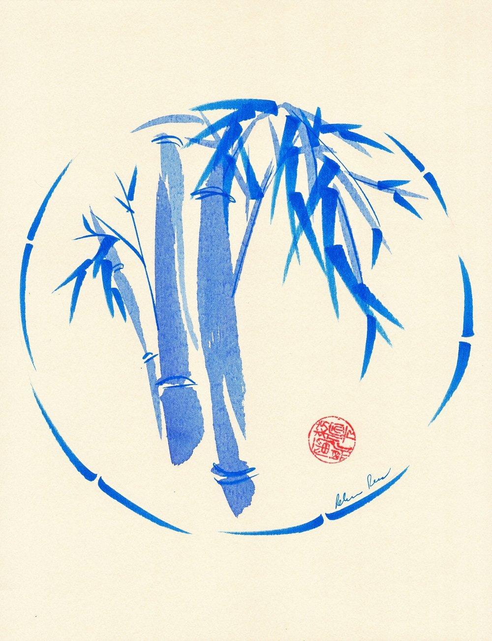 """""""Enso Blu"""" by Rebecca Rees"""