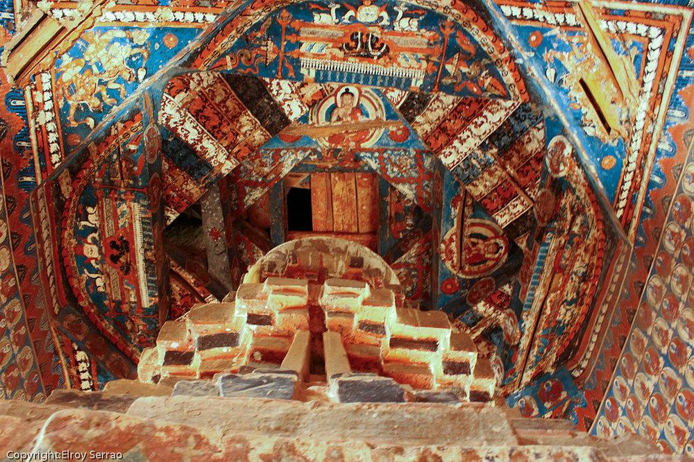 Murals of Alchi Monastery.  Photo: Elroy Serrao/Flickr