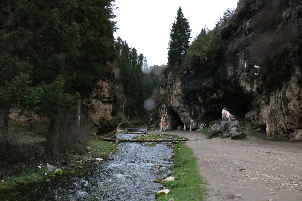 Entrance to Namo Gorge.