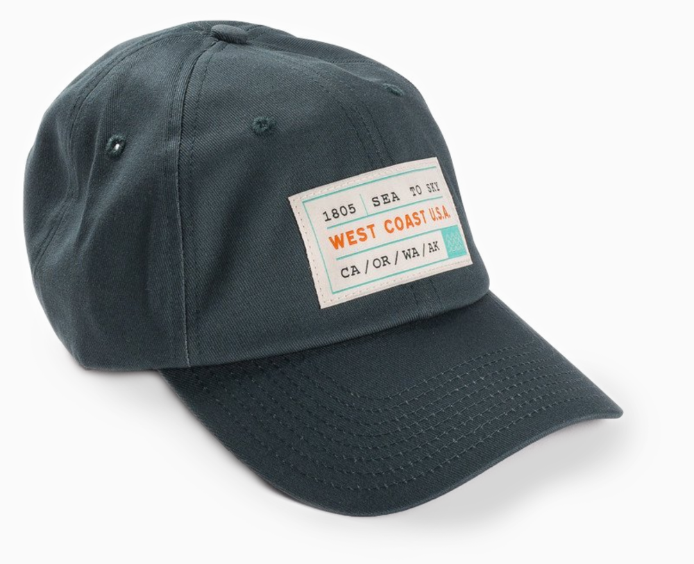 West Coast/Best Coast - In April of 2017, Tender Loving Empire opened their fourth location—the PDX airport store. And so I was tasked with designing over 100 products that rep our region. The Sea to Sky dad hat is available for purchase on the TLE site.