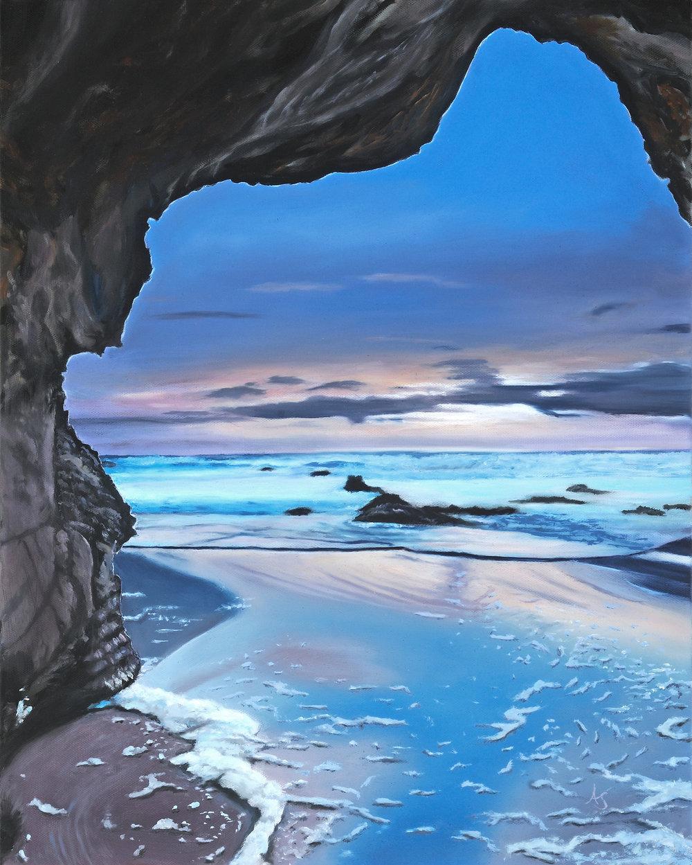 Ocean Sunrise, 6x20 - SOLD