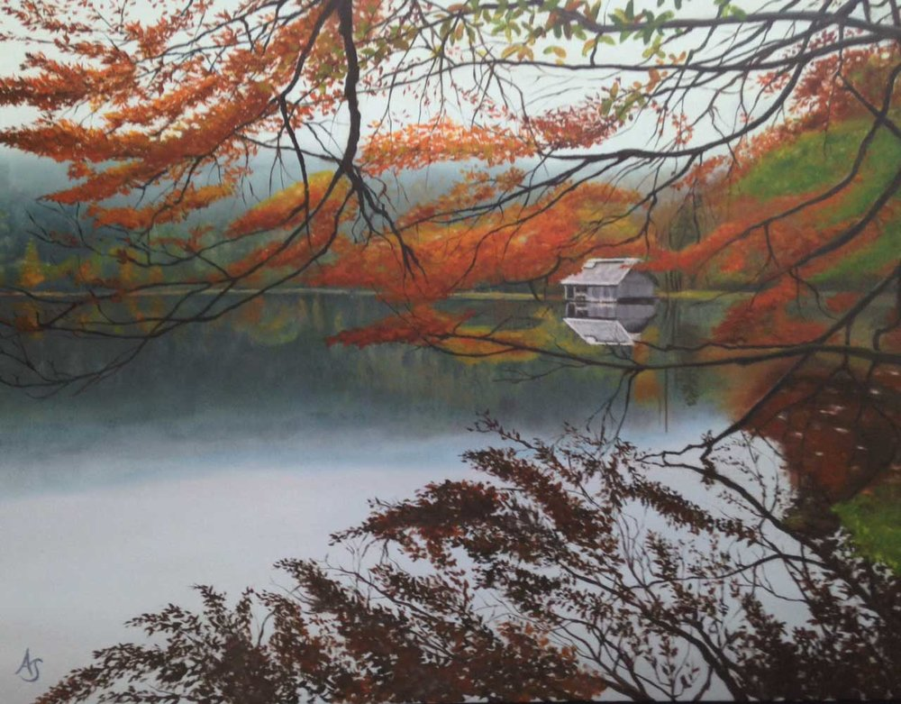 Reflections, 18x24 - SOLD