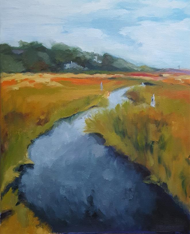 Marsh, 16x20 - $400