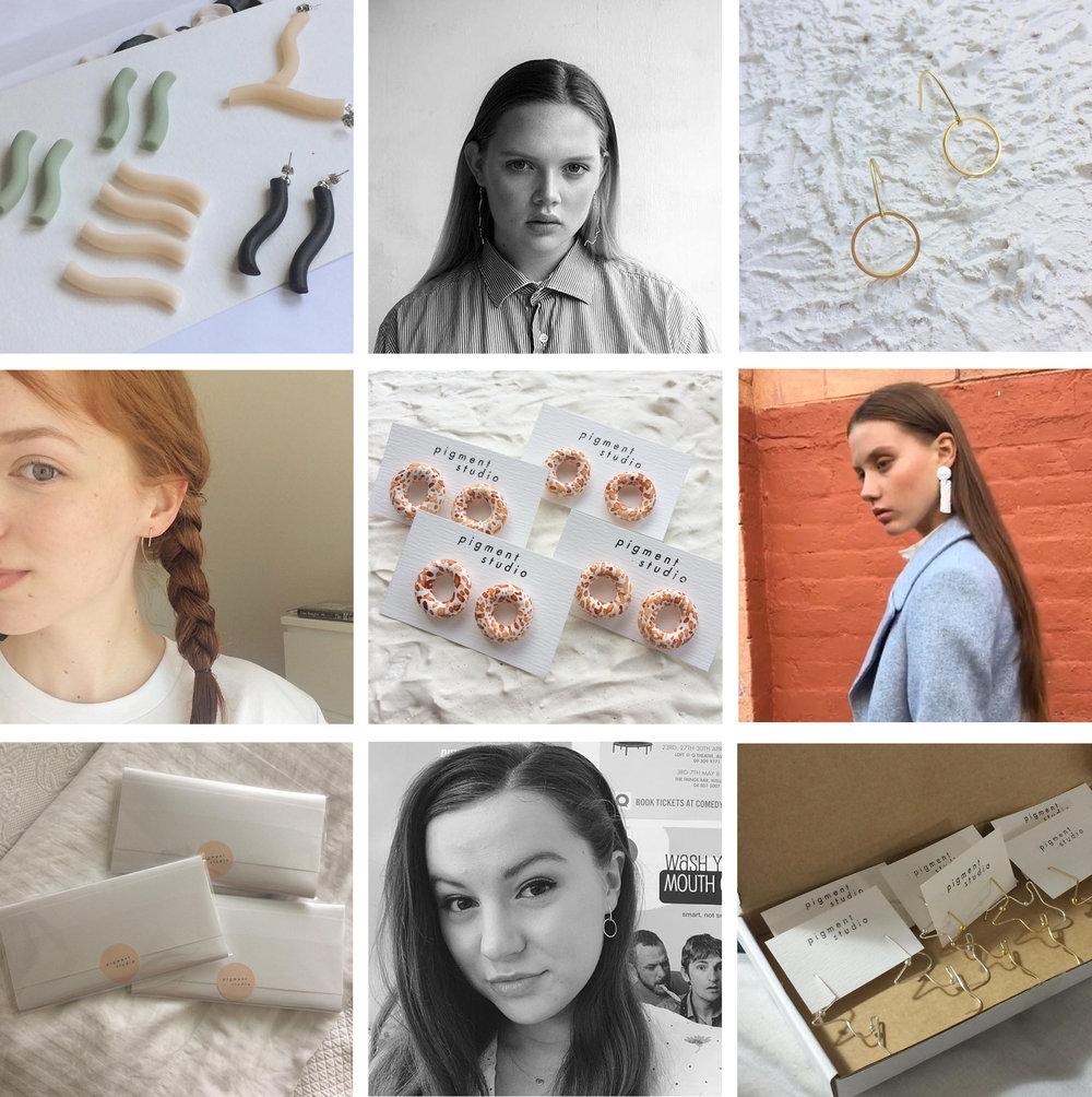 All images via  Pigment Studio's instagram . Ft  Holly ,  Albertine ,  Jem  and  Maya