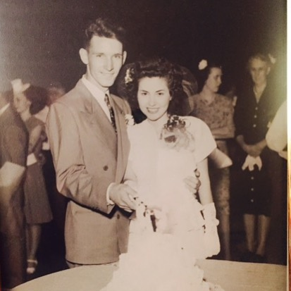 Do you know your family history? I recently did my Ancestry DNA and found out I'm 55% British and 35% Western European. My grandparents, pictured at their wedding, were English, French, and German. There's a series premiering on Prime Video about family roots! Check out the show #TheRomanoffs on #PrimeVideo! Link in my bio! #hbtsp #hbtTheRomanoffs #ad #TheRomanoffs #PrimeVideo #AmazonPrimeVideo @amazonprimevideo @theromanoffs