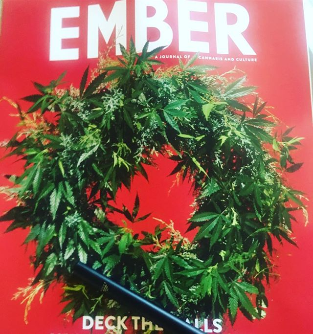 Did you know pot is legal in some form in 30 states and counting? Happy Holidays! 🌲🌲🌲#hotspot #hbtEmberHoliday #MedMen #EMBERMag