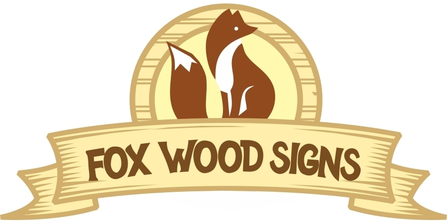 Fox Wood Signs