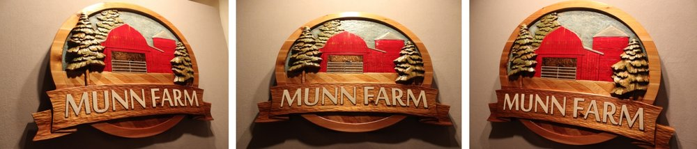 Custom Farm Signs by Fox Wood Signs