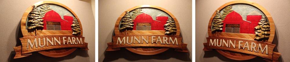 Custom Farm Signs by Fox Wood Signs