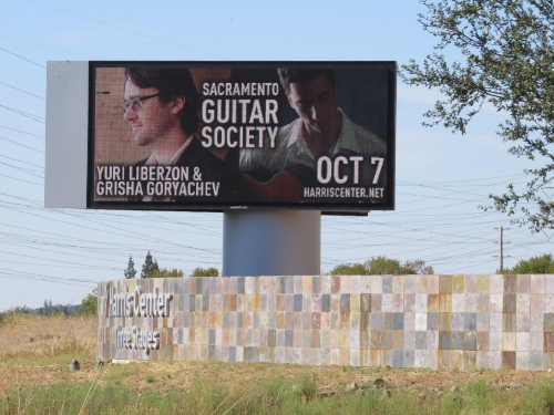 RUSSIA!YURI LIBERZON & GRISHA GORYACHEVSaturday, October 7, 2017 7:30 pm -