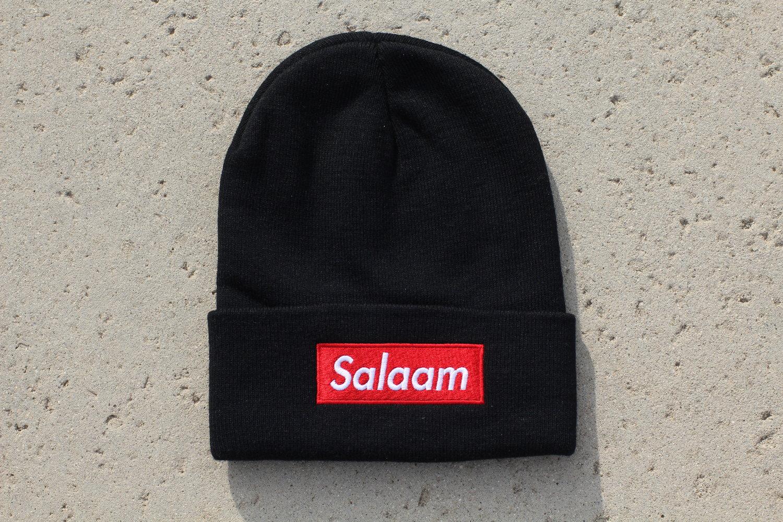 e0dd00e5172 Salaam Beanie - Black — KALAKARI