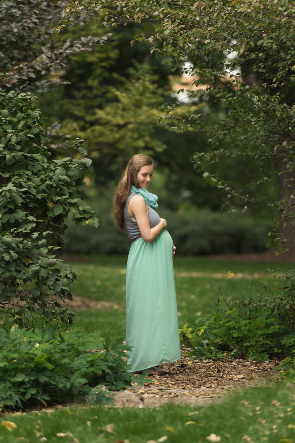 Mary Maternity Photos Lincoln Nebraska UNL East Campus.jpg