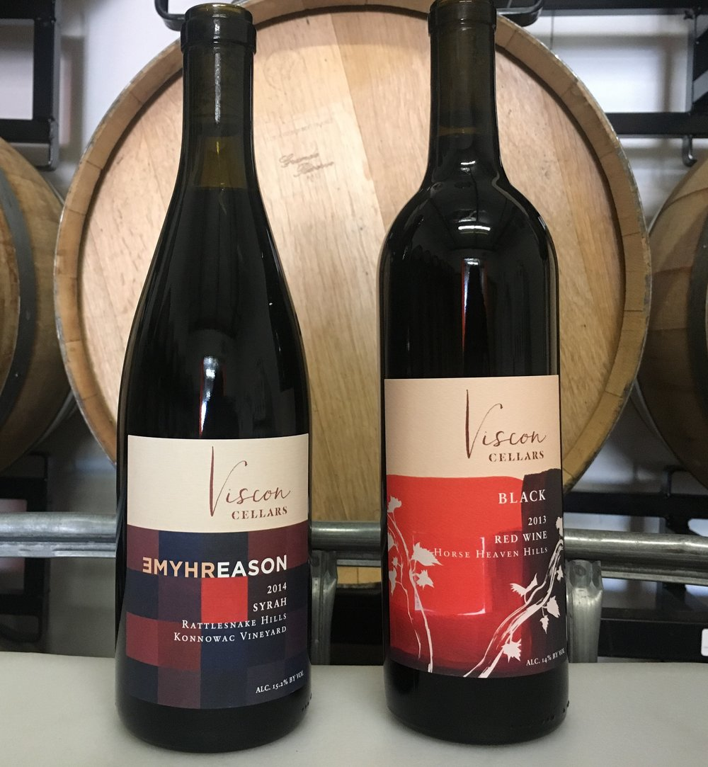 Save the date! - Arriving Saturday, October 21: 2013 BLACK red blend and the new 2014 Rhyme & Reason