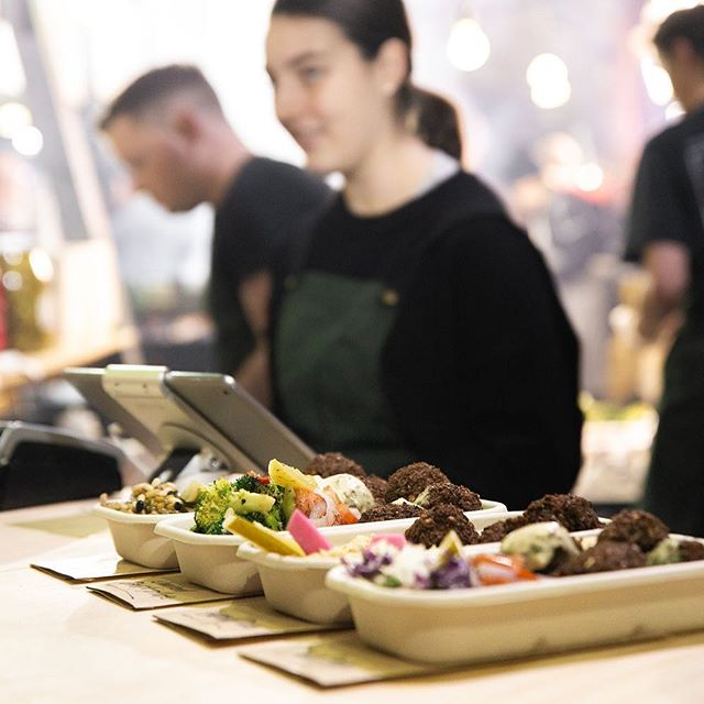 We can't get enough of the amazing @thenightmarket! We'll be back at the beautiful @vicmarket again tonight from 5pm! 🥙 + 👫👭👬