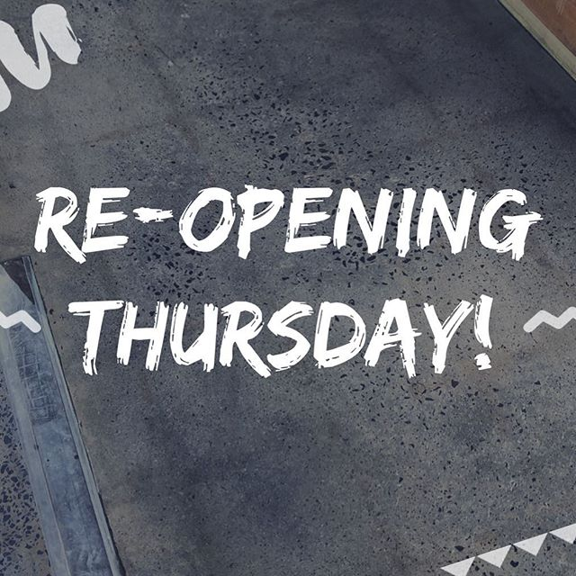 And we're back! We'll be in full swing from lunchtime tomorrow (fully recovered from our facelift, of course!). See you all then xo 🥙