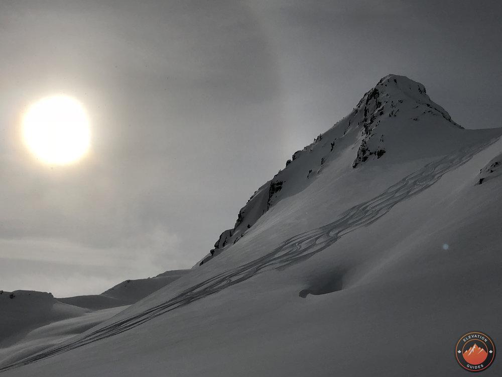 Perfect Peak: Sorcerer Lodge Feb 2018
