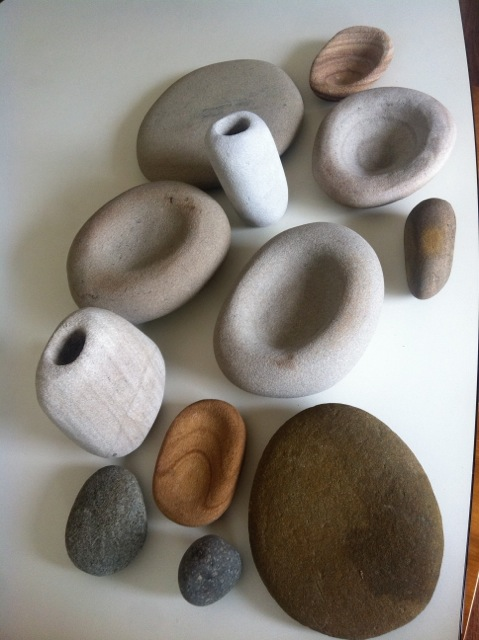 Liane Rossler, Carved Sandtone, Carved from offcuts