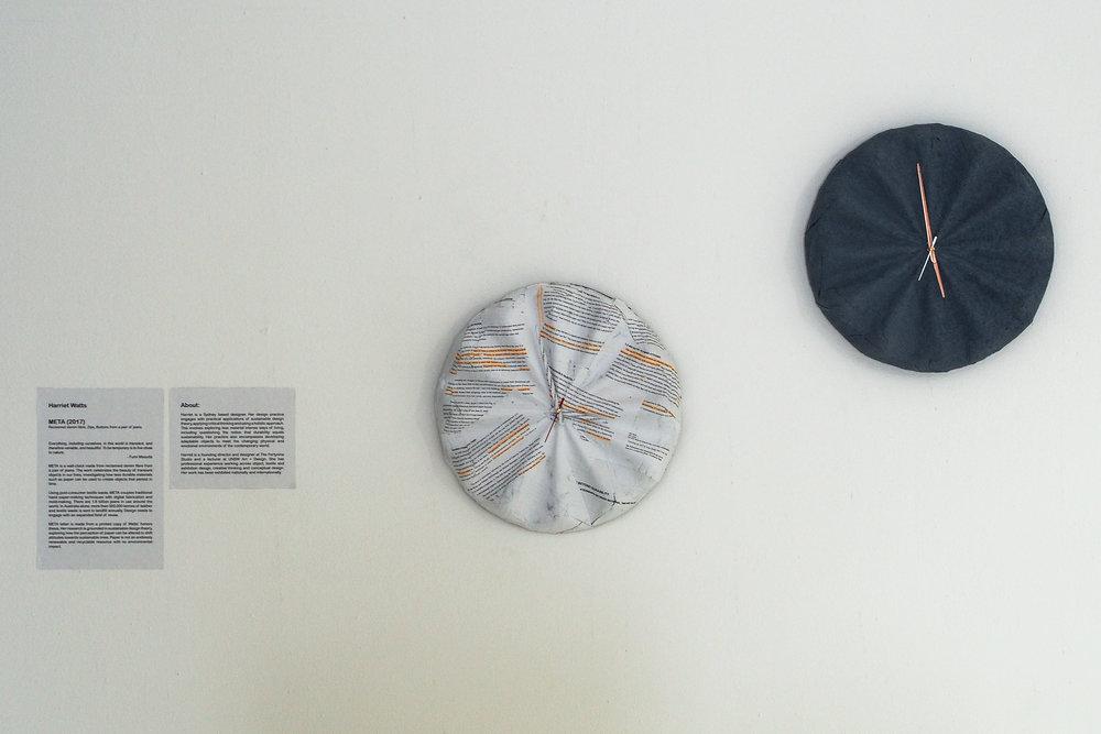 'META' Clock by Harriet Watts