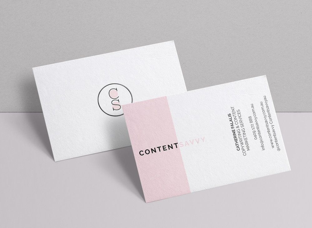 Business Cards — Design By Bronte