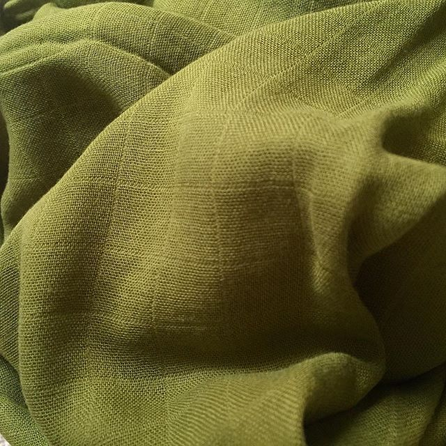 Our Olive swaddles have also been a clear favourite lately! Luckily there's a few left in stock!