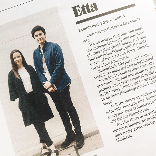 We were featured in @citymagadl for @etta_store! Take a look in a copy it you have one or head online! Very exciting stuff for us, as we haven't ever interviewed before! This little article has only encouraged us to look harder at a range of other products to start bringing in so stay tuned!