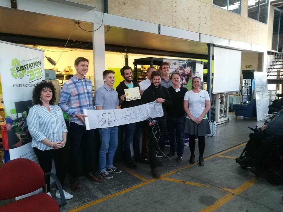 EWB Makerthon winning team
