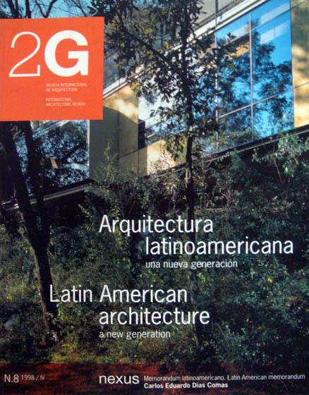 Revista 2G - n.8 | 1998  Arquitectura Latinoamericana -una nueva generación