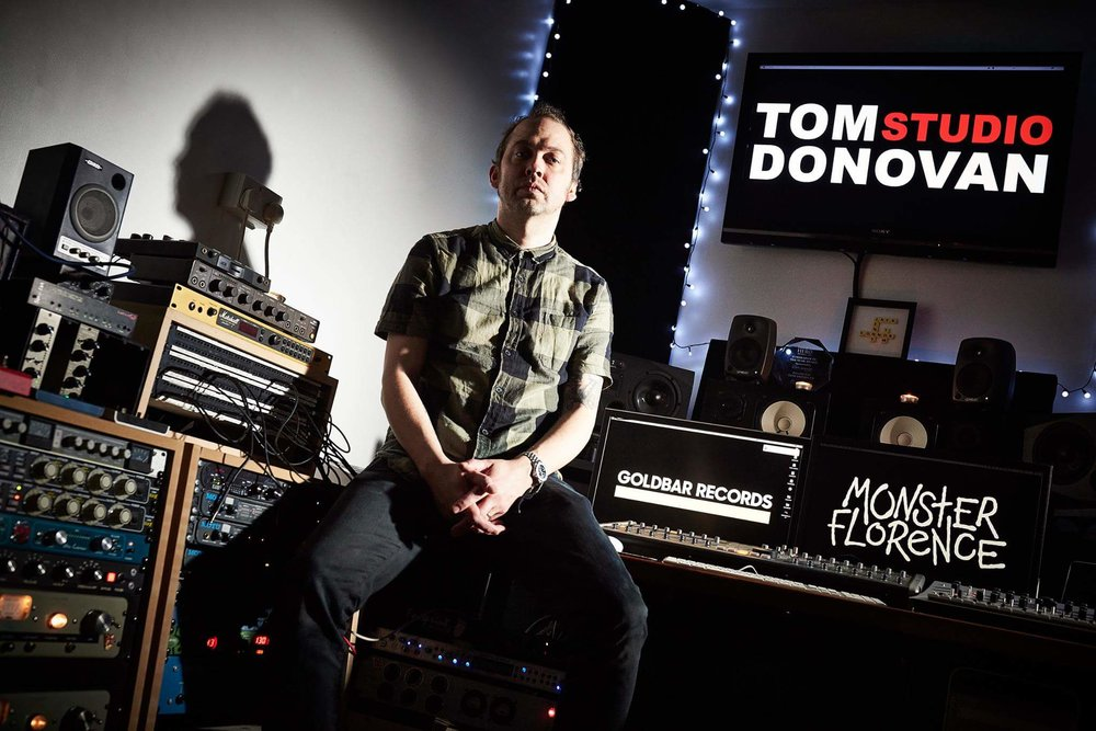 Tom Donovan - As a lifelong music lover and owner of the company Tom Donovan Studio, Tom has paired with many of the UK's most promising artists to create award-winning and exciting new music.