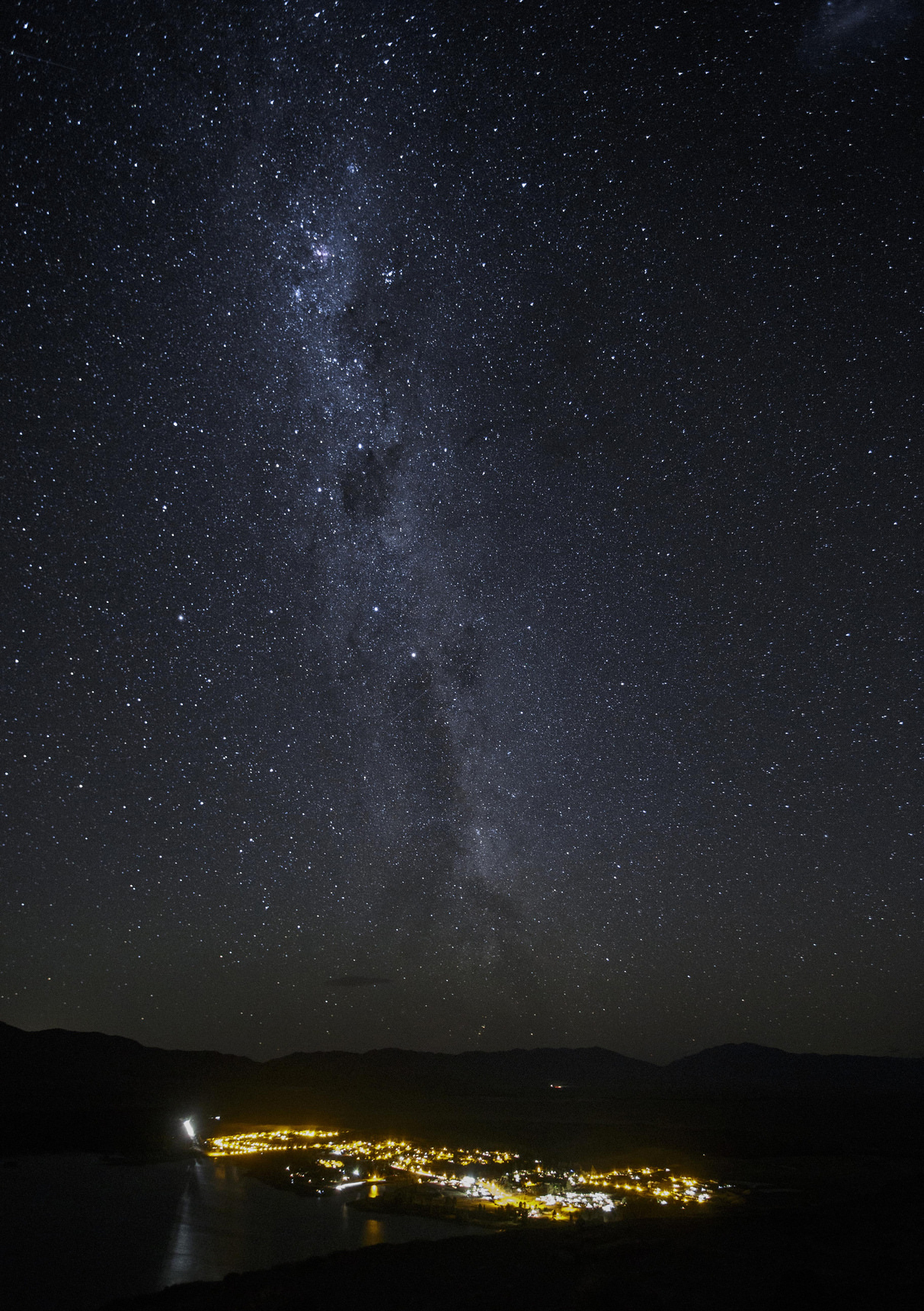Stjärnhimmel Nya Zeeland