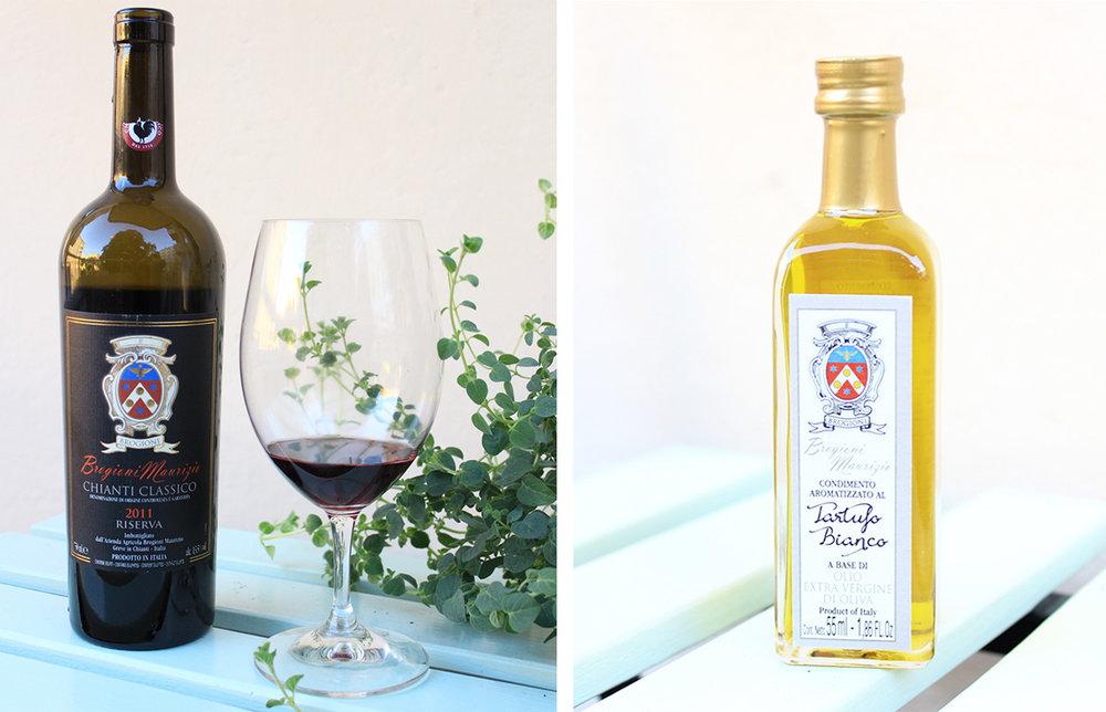 produkter vingård toscana