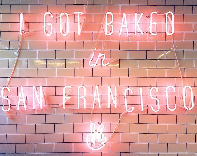 Most Instagrammable places #1 - Mr Holmes Bakehouse in SF!