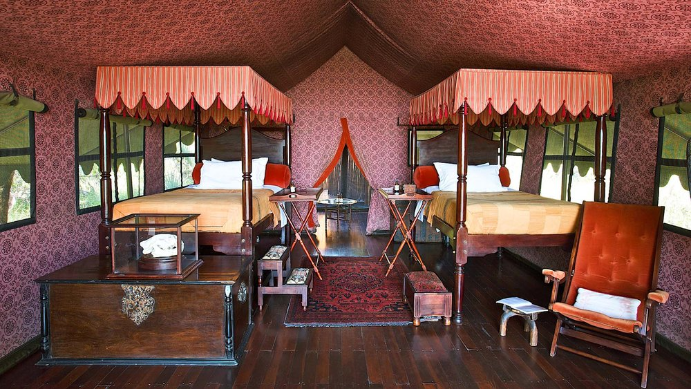 Jack's Camp , Botswana: 'A nod to authentic, old-world safari.'
