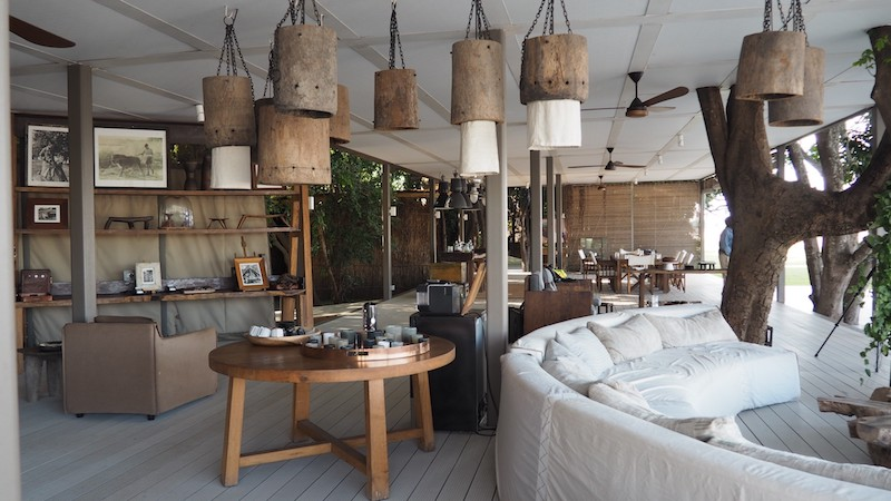 Chinzombo- Safari seclusion meets 'not exactly roughing it'.