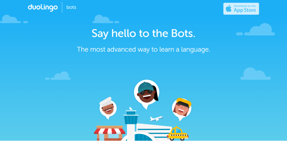 Duolingo 推出 chat bot 服務,讓機器人陪你一起學外語