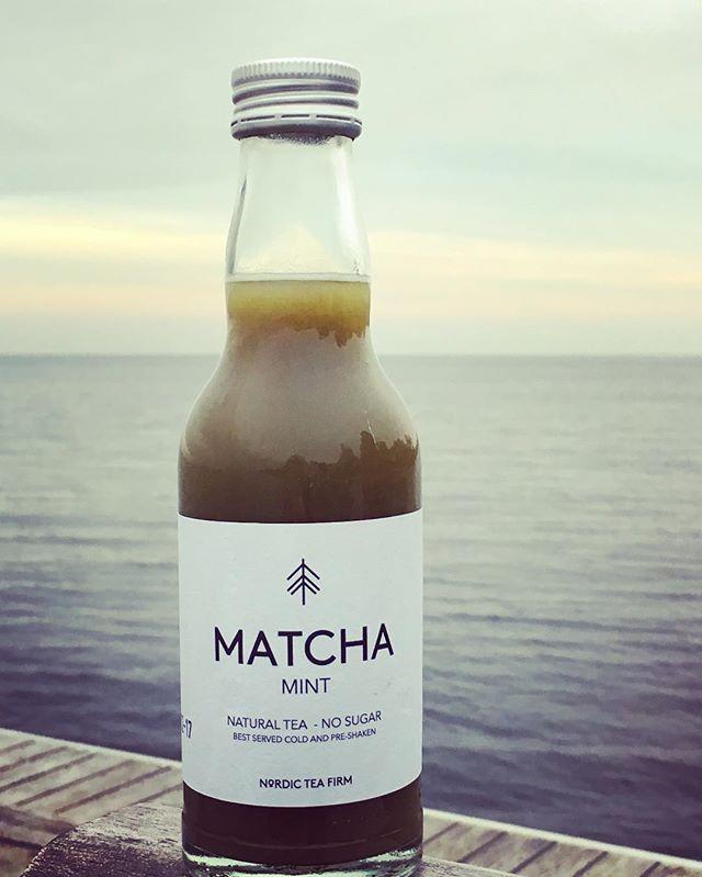 Nyd en Matcha Mint og fyld din krop med antioxidanter 😀👍❤️#nordicteafirm #matcha #matchalove #matchaholic #matchatea #life #love #københavn #fitlife #denmark