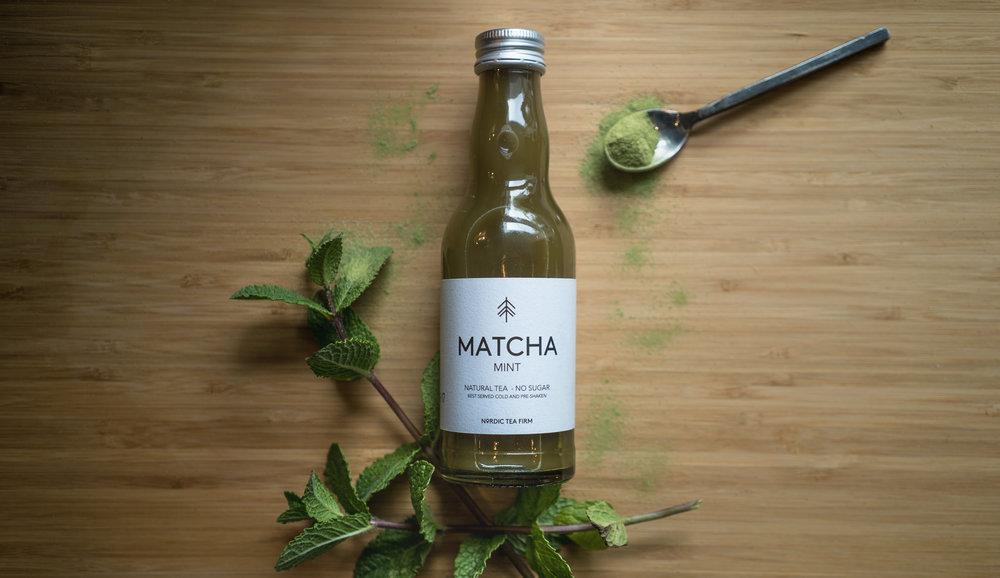 Nordic Tea Firm - Matcha Te med mint
