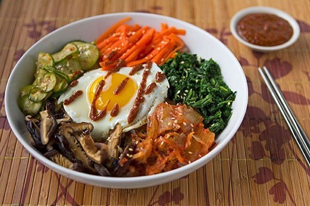Take a look at this Korean Style Bibimbap 🍜 by @savorybastard 👨‍🍳You can book him at listings.nichef.com 👊 . . . . . #bostonfood #bostoneats #bostonbite #greatfood #nichefexperience #instafood #fromscratch #healthyfood #nomnom #gastroart #fresh #korean #bibimbap #nichef