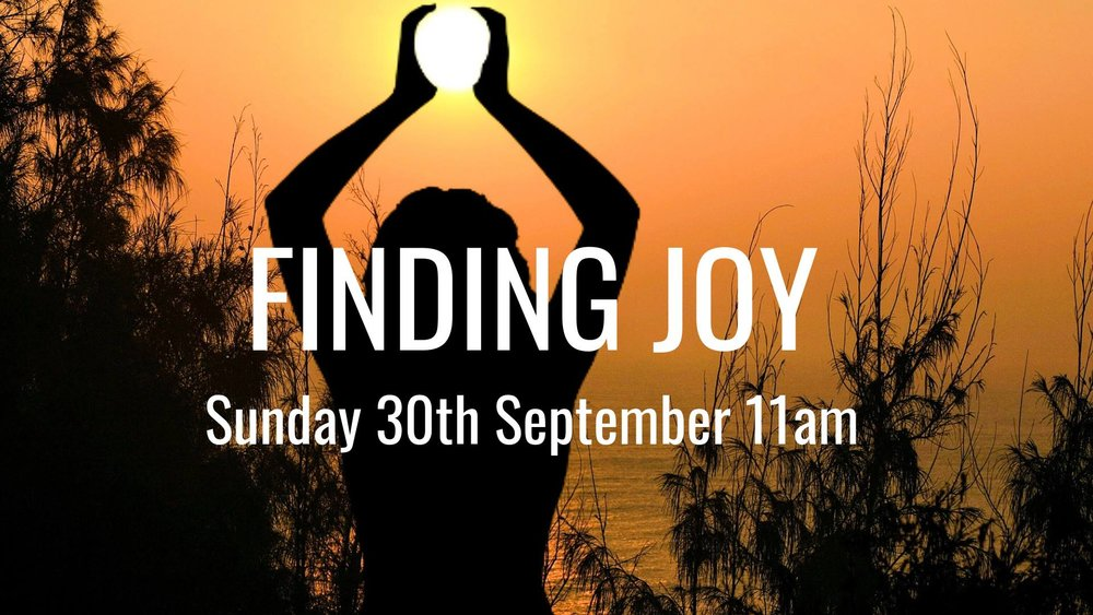 Finding Joy @ The Transition