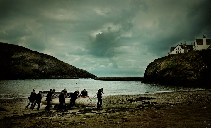 """Port Isaac's Fisherman's Friends"" Album Shoot"