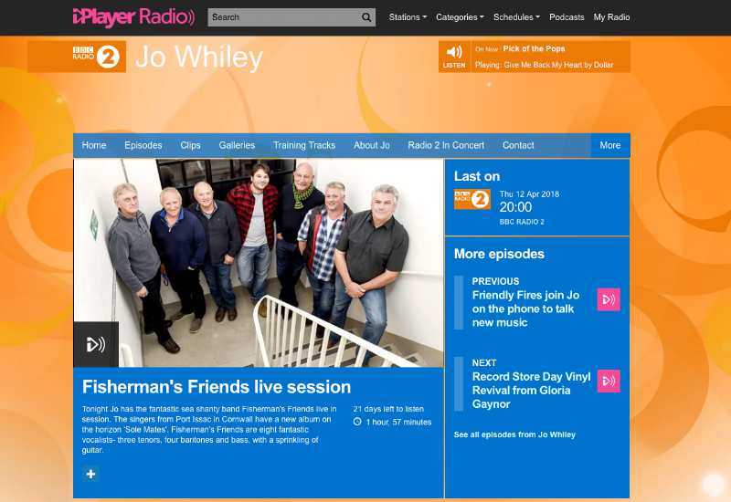 FF at Radio 2