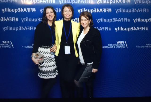 Our WISLaw Board Members Despina Mavromati, Melanie Schärer and Marisa Domingues Rubio