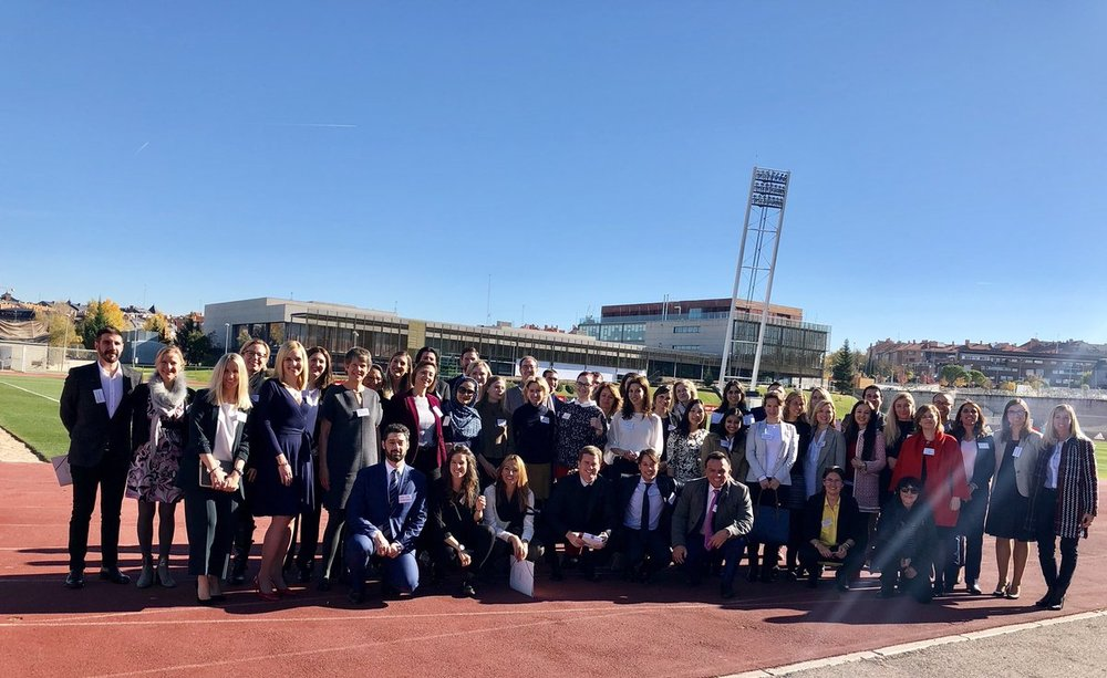 Our First WISLaw Annual Conference and General Assembly in Madrid. Thanks to our Members and Friends for coming to our conference from 25 different countries!