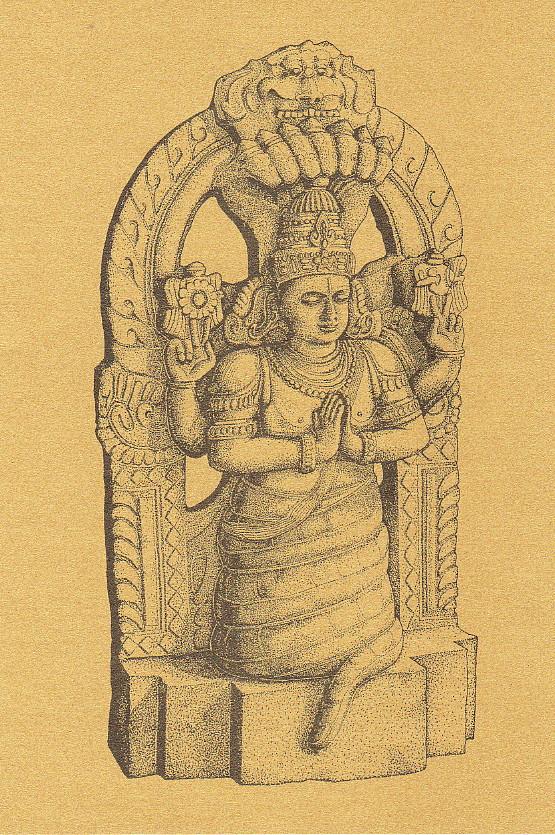 the symbolic Patanjali statue
