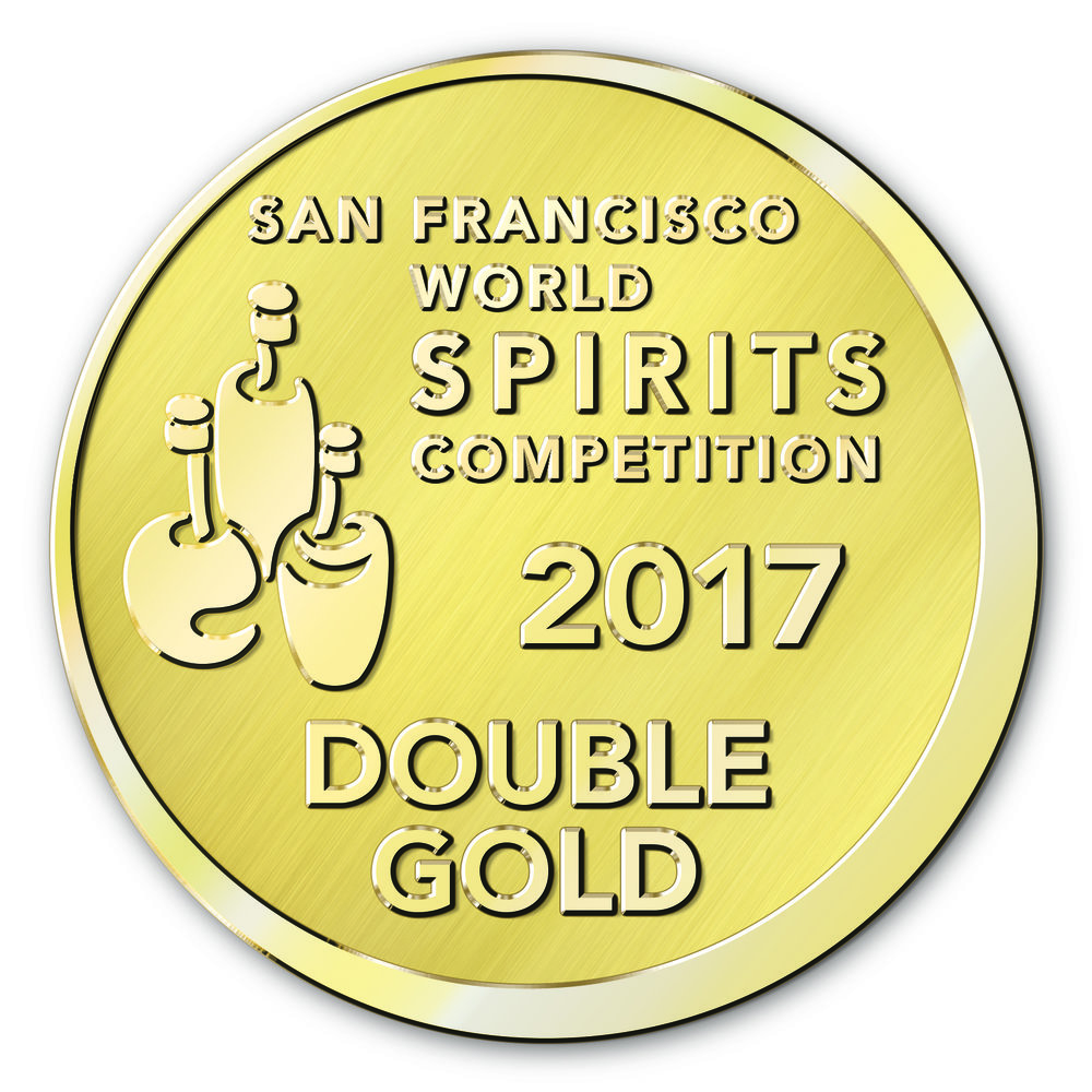 San Fransisco World Spirit competition - Double Gold