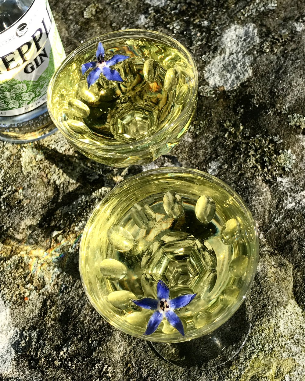 Double Gold Hepple Cocktail